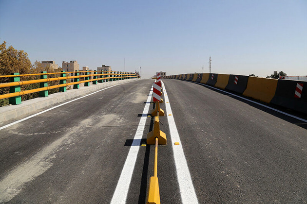 بخشی از آزاد راه کرج - قزوین مقطعی مسدود می شود
