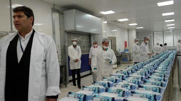 افتتاح کترینگ هواپیمائی «ایرانایر» در فرودگاه امام