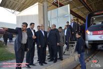 گزارش تصویری/  بازدید استاندار از پروژه خط یک قطار شهری تبریز