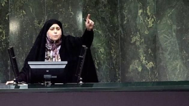 درگیری در مجلس بر سر آخرین نطق نماینده زن