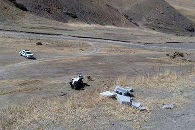 سانحه رانندگی در جاده مهاباد - سردشت یک کشته برجا گذاشت