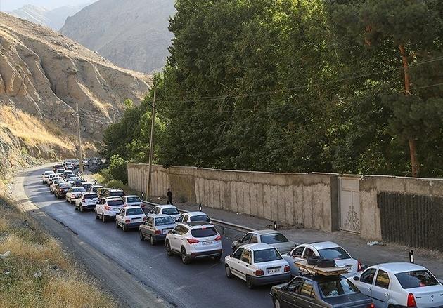 ترافیک سنگین در محورهای شمالی/ جاده هراز مسدود شد