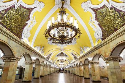 دیدنیترین ایستگاههای مترو در  دنیا